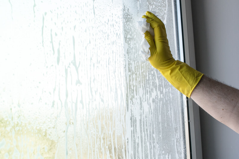 Mycie okna - Glass Foam