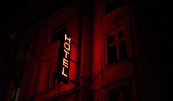 Podłogi w hotelu