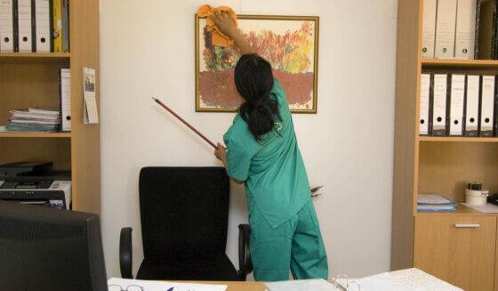 Dezynfekcja w biurach