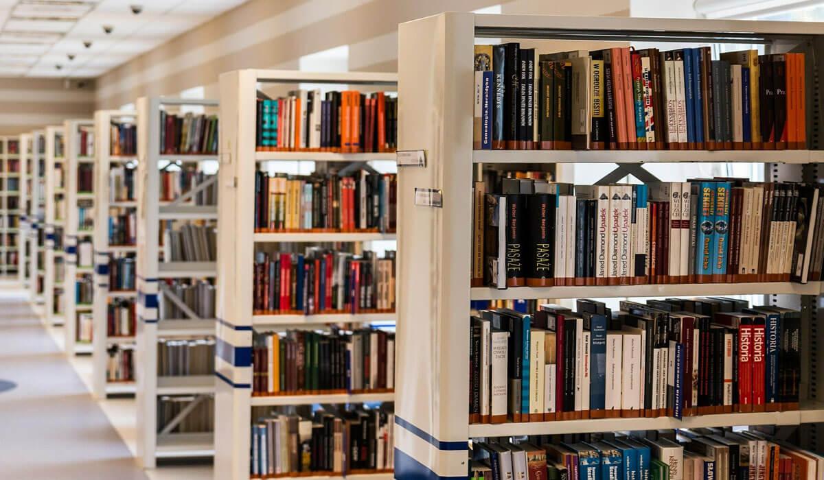 Biblioteki - dezynfekcja