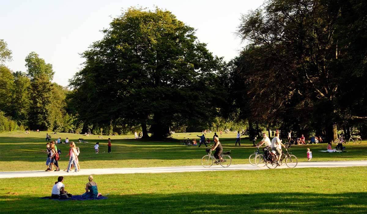 Obszary dezynfekcji w parkach