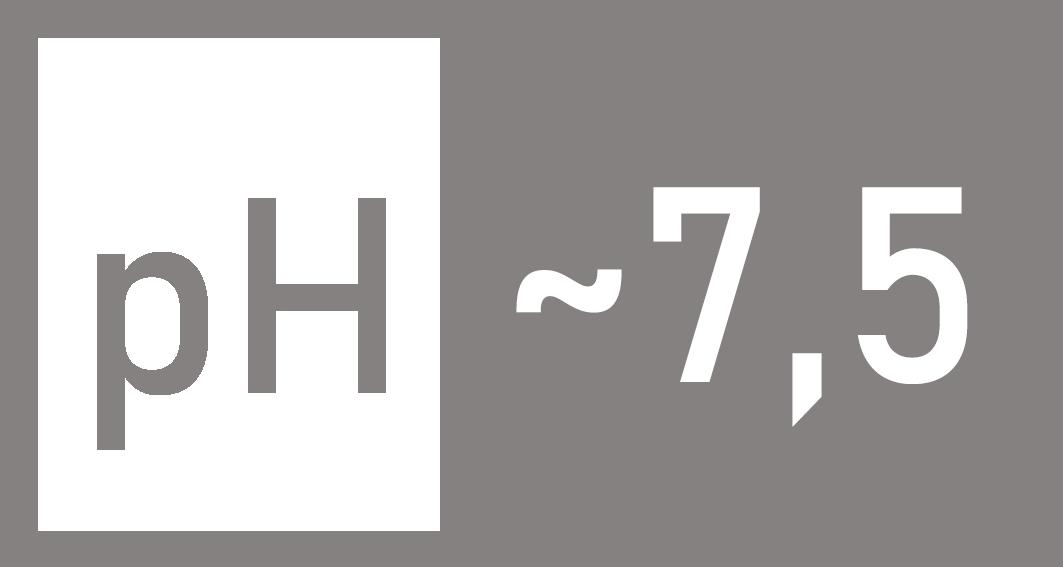 Poziom pH w preparacie 7,5